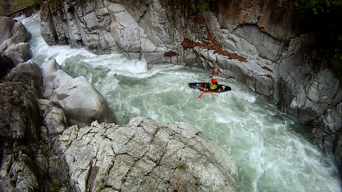 kayak en Pirineos