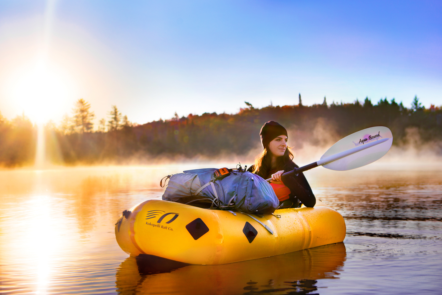 Packraft, expediciones