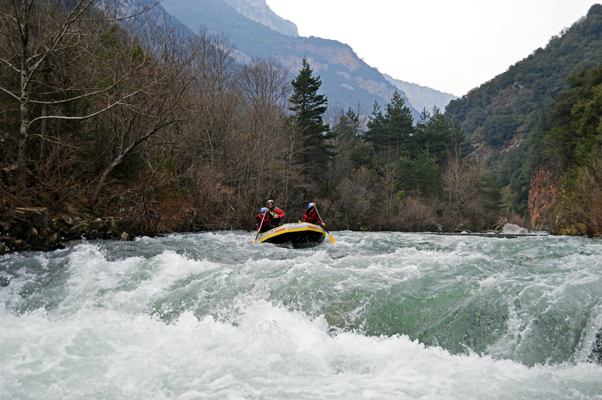 Rafting valle de roncal